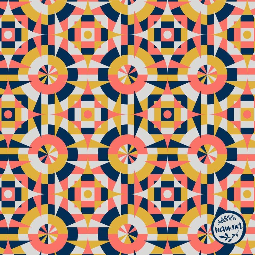 Geometric Tiles - image 3 - student project