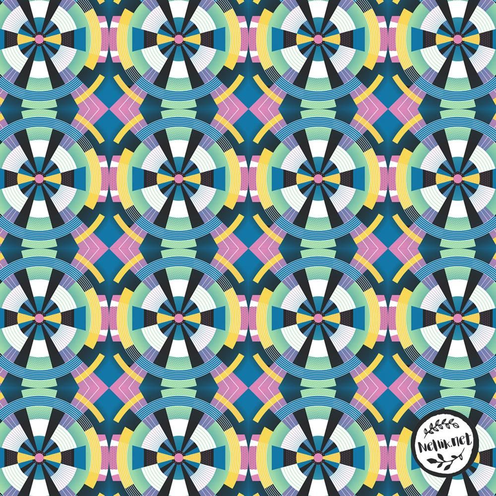 Geometric Tiles - image 10 - student project