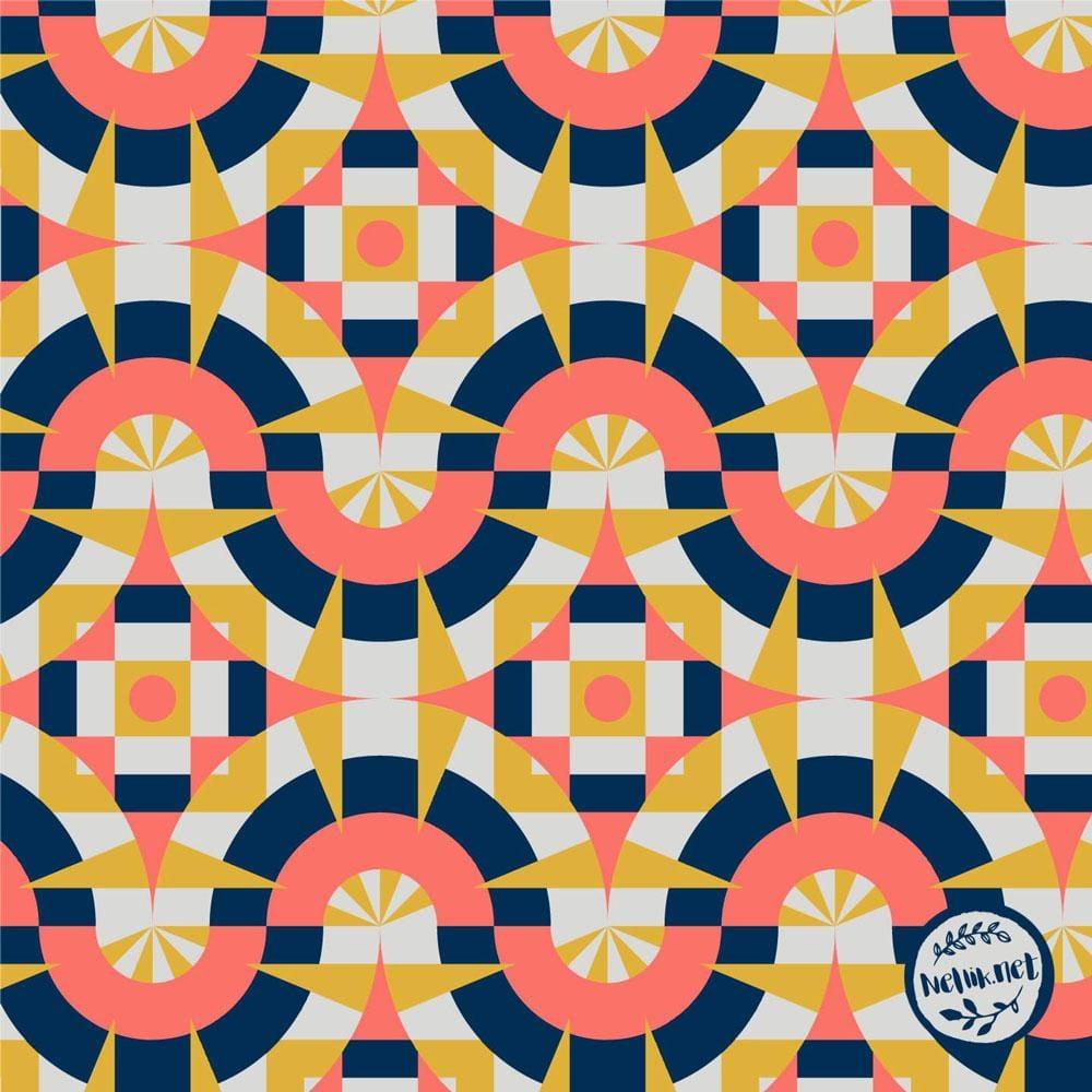 Geometric Tiles - image 2 - student project