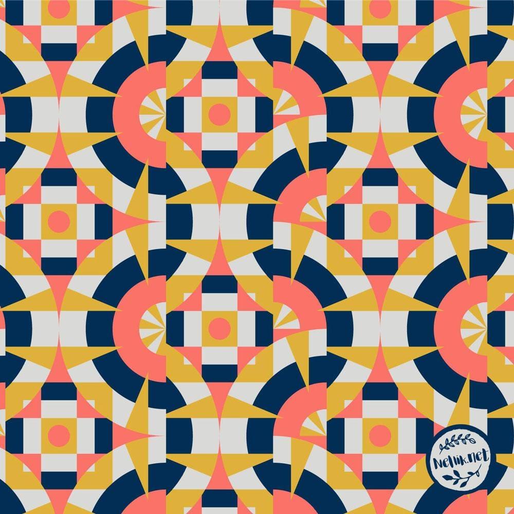 Geometric Tiles - image 1 - student project