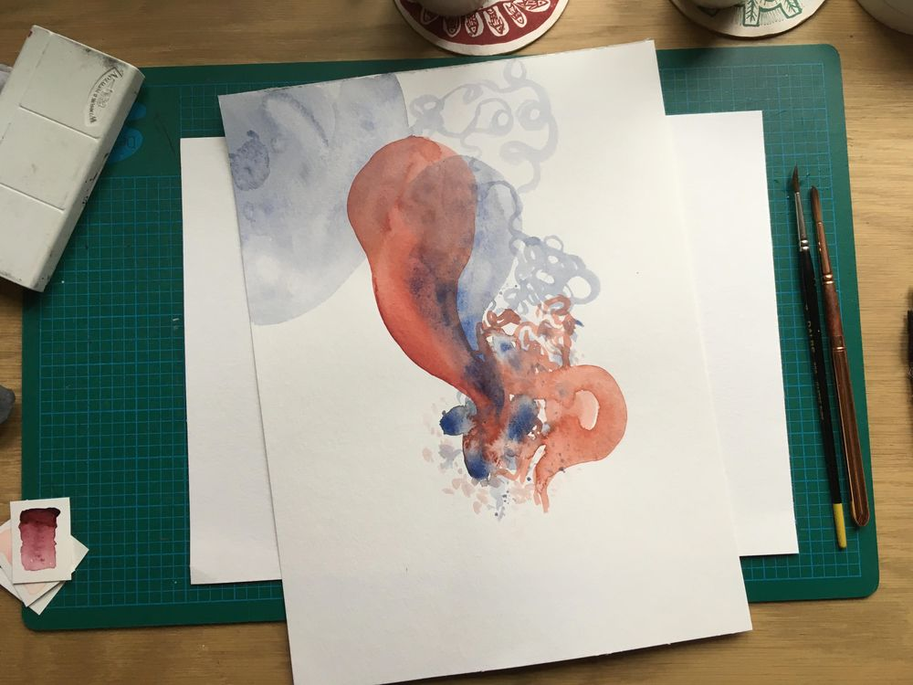 [Sample project] The wonderful world of watercolor - image 4 - student project