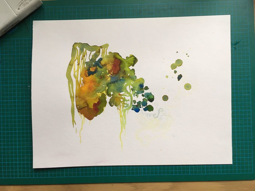 [Sample project] The wonderful world of watercolor - image 2 - student project