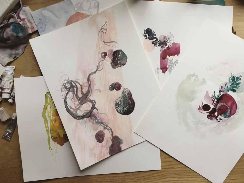 [Sample project] The wonderful world of watercolor - image 6 - student project