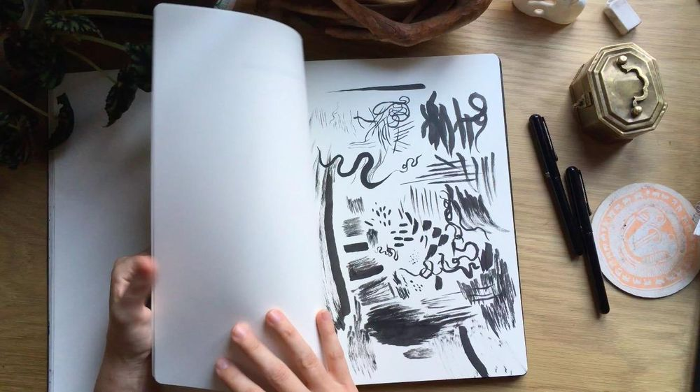 [SAMPLE PROJECT] My inky pages - image 1 - student project
