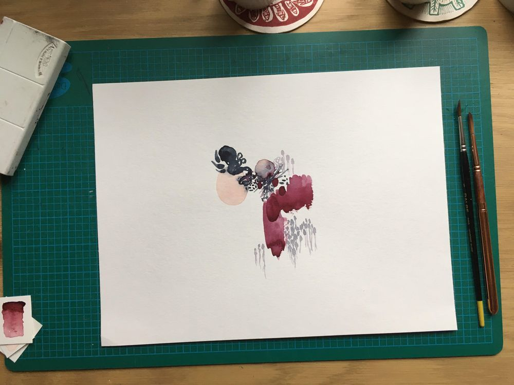[Sample project] The wonderful world of watercolor - image 3 - student project