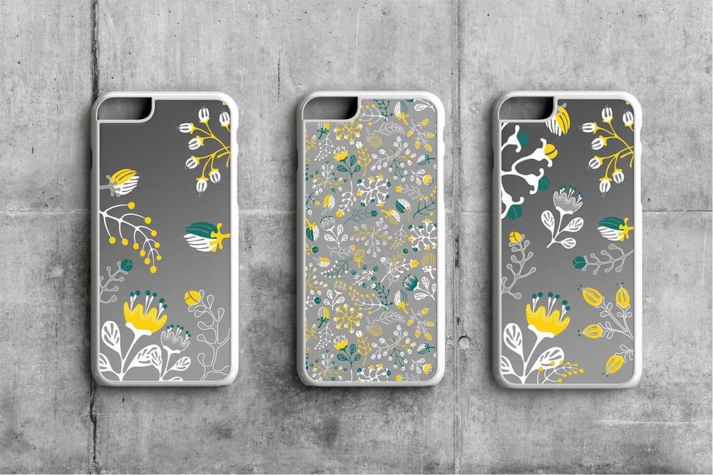 Floral Pattern Design Set - image 4 - student project
