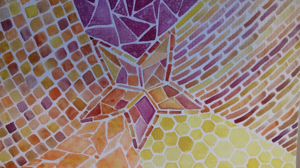 Abstract mosaic - image 1 - student project