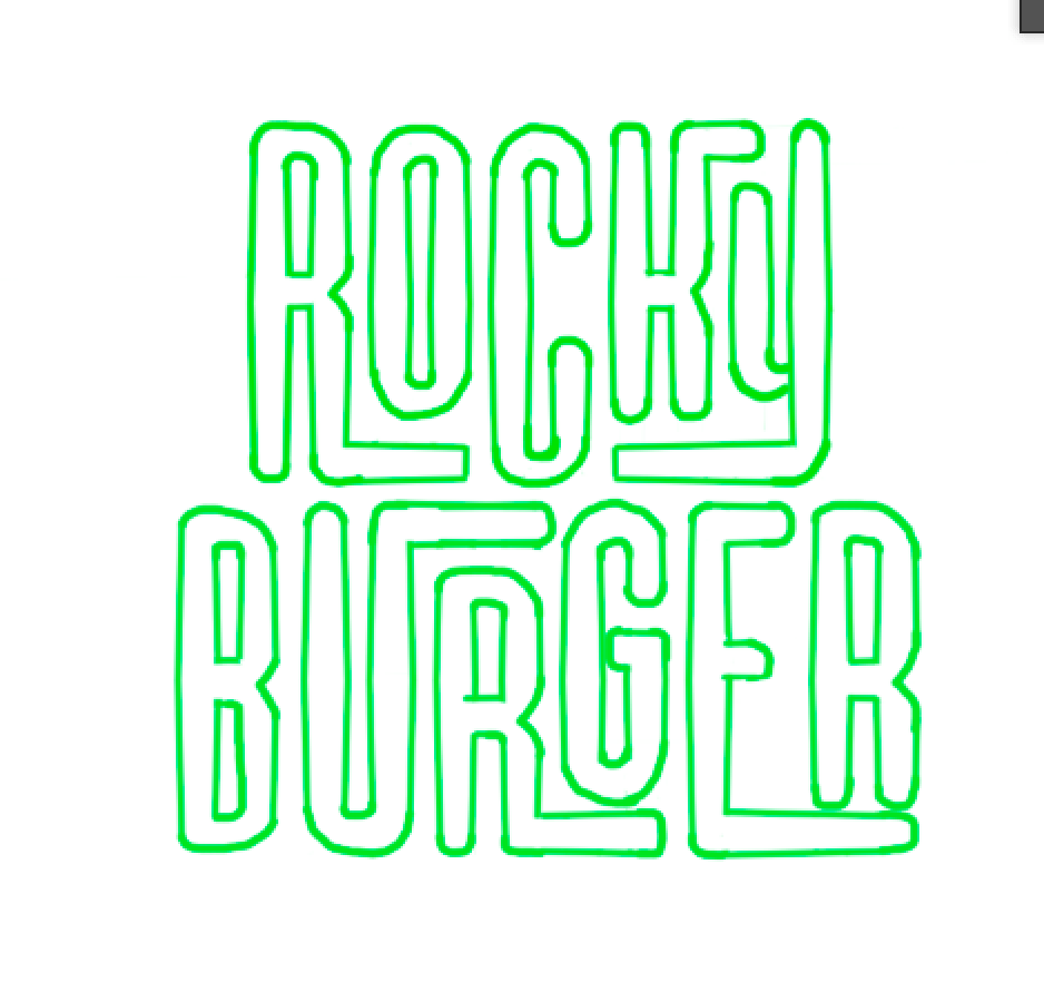 rocky burger - image 5 - student project