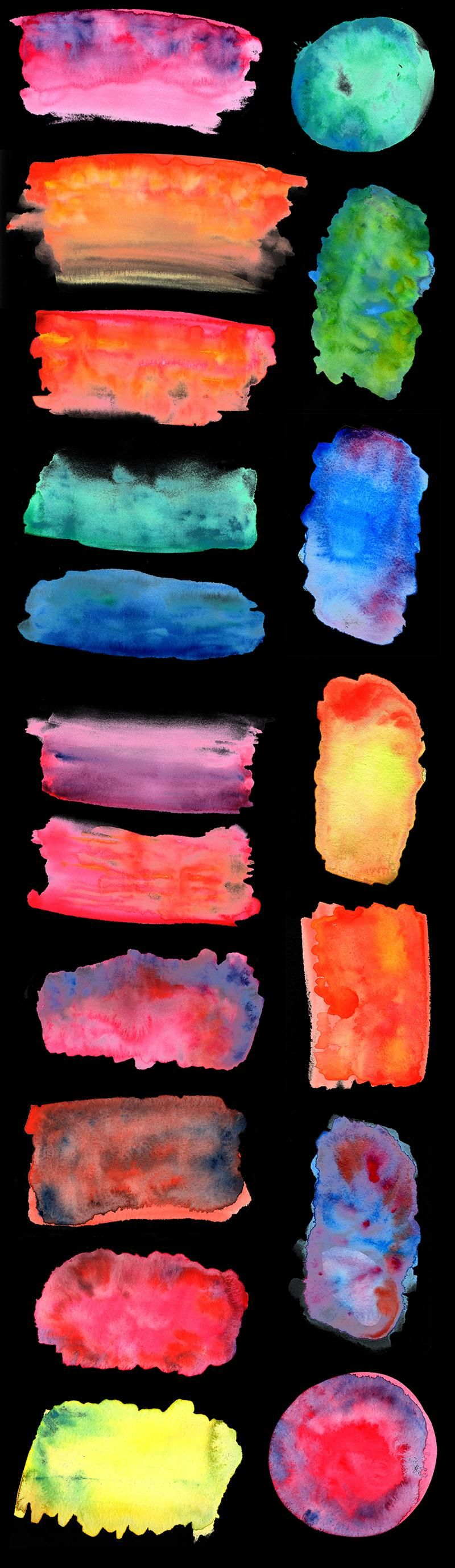Watercolour textures - image 2 - student project