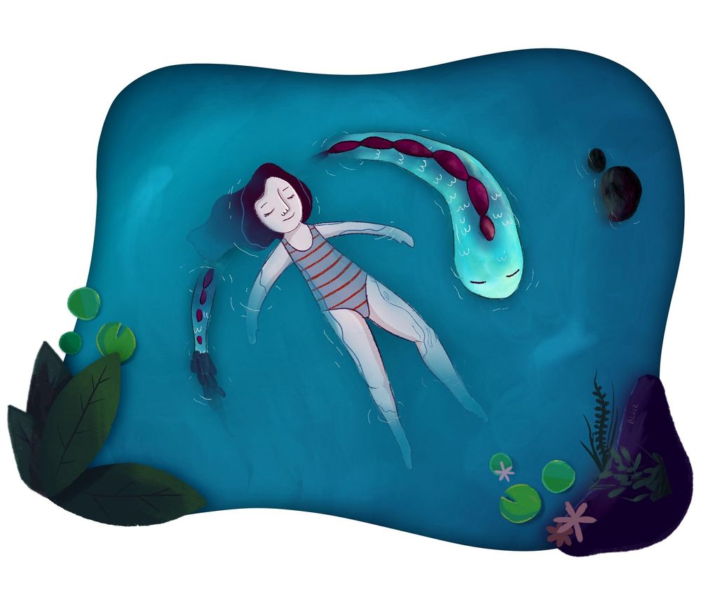 Swimming with Sea Creatures - image 1 - student project