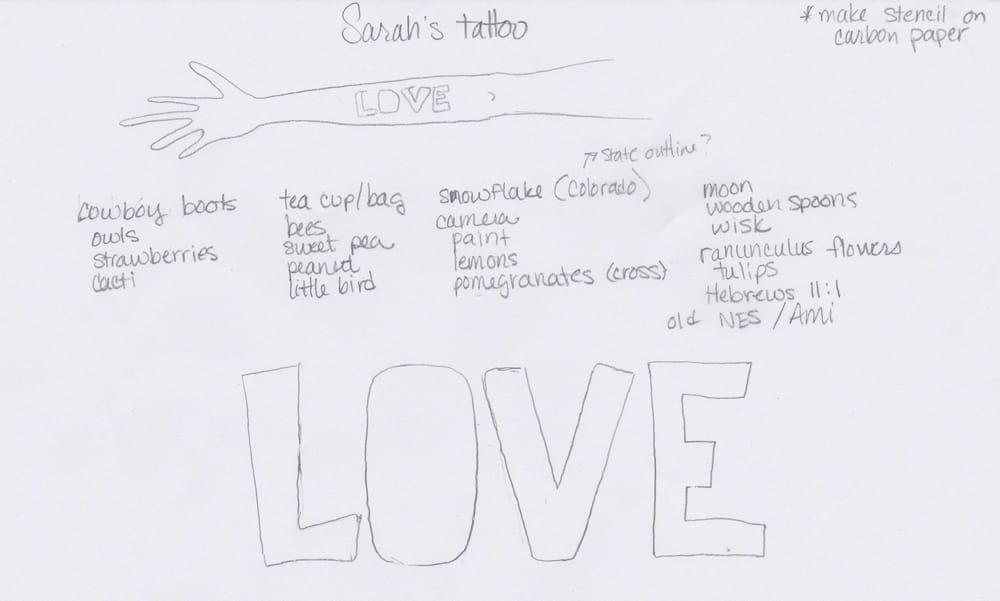 Sarah's Tattoo - image 2 - student project