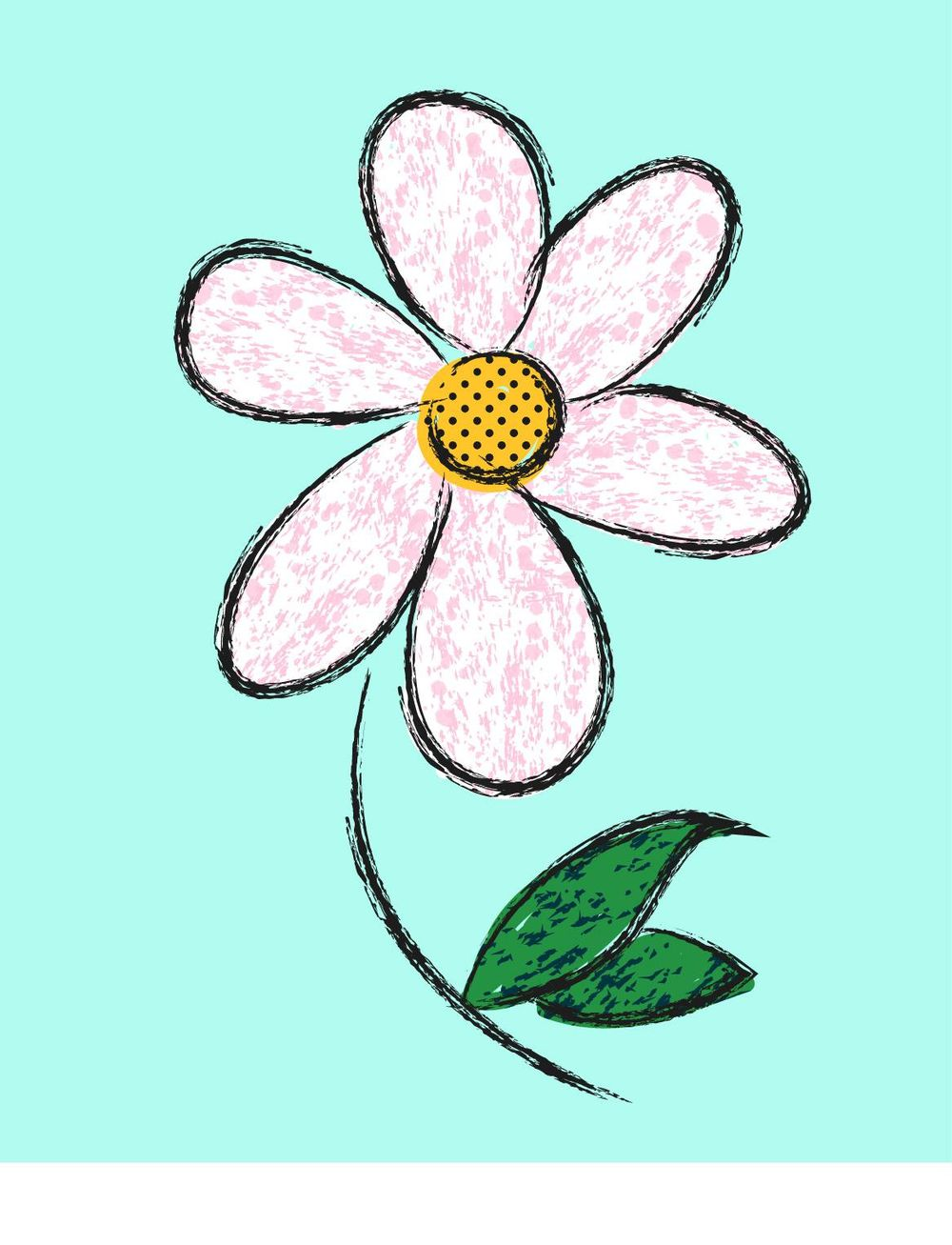 White Flower - image 1 - student project
