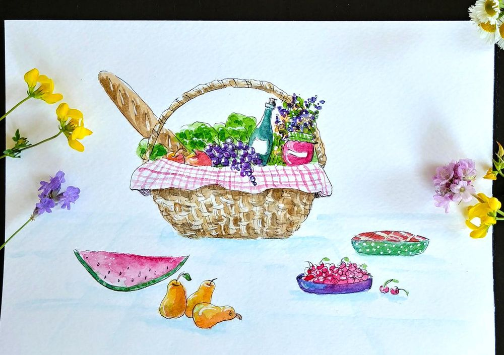 Time for picnic :) - image 1 - student project