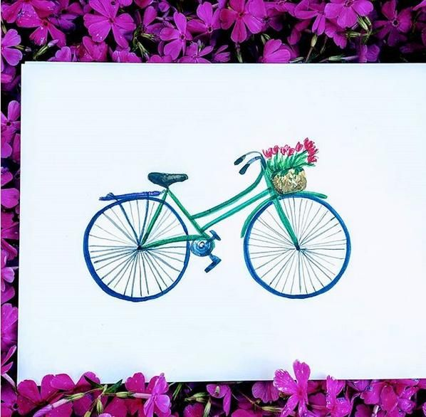 Spring bicycle - image 1 - student project