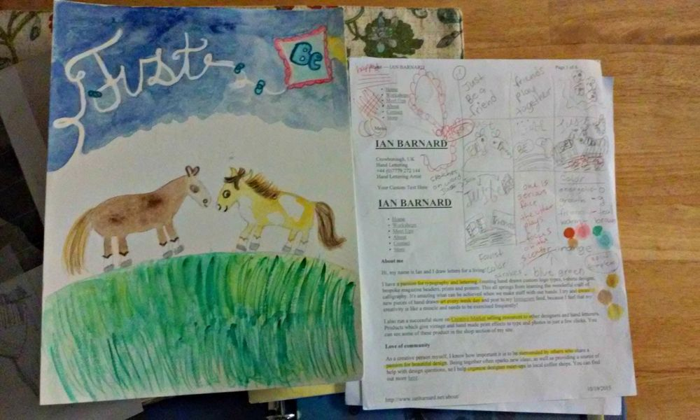 I can paint a horse. - image 2 - student project