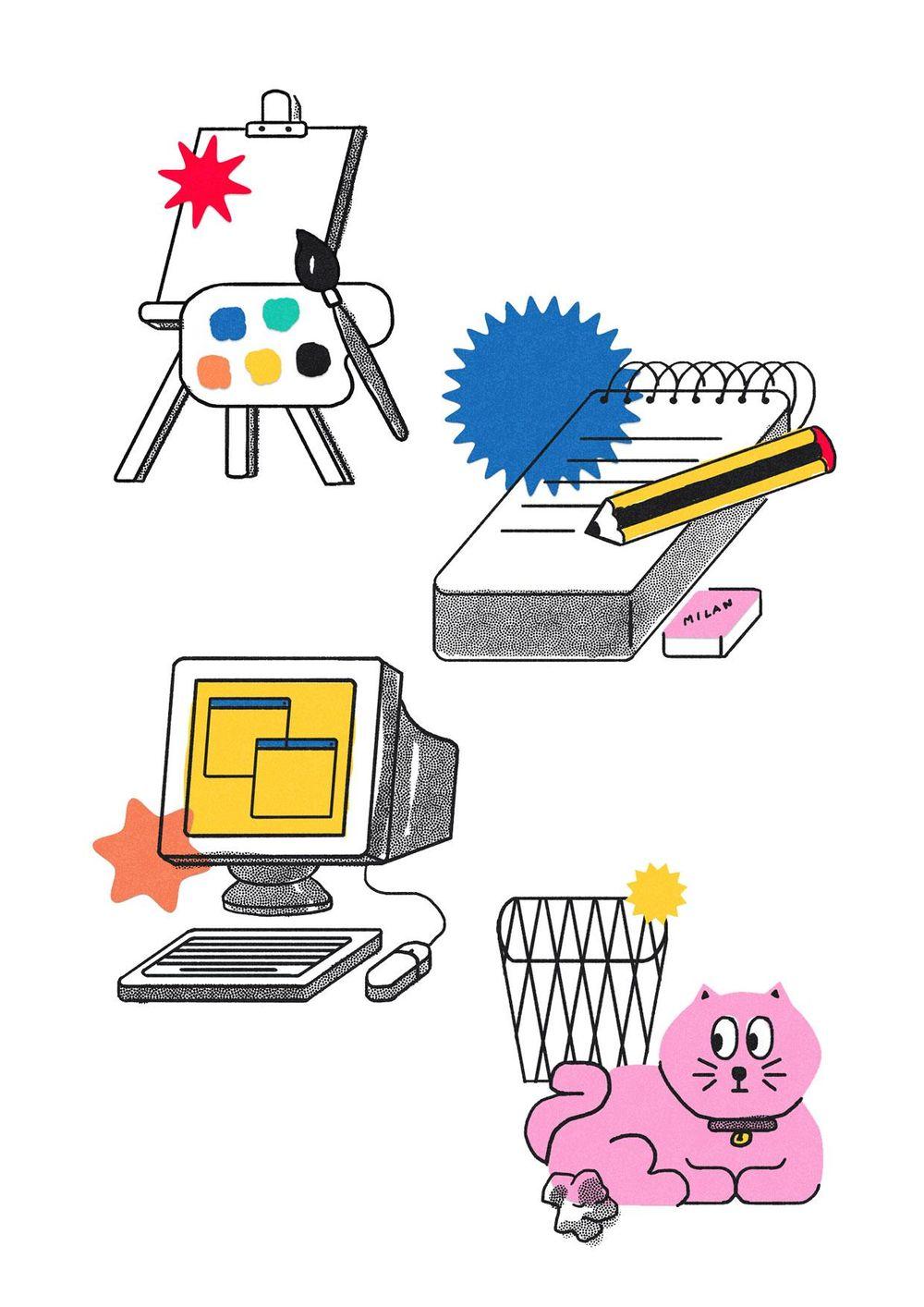 Illustration - image 1 - student project