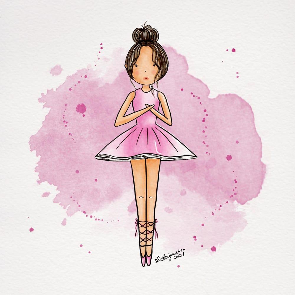Sweet stylized girl - image 1 - student project