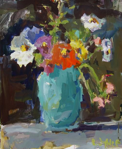 Expressive Still Life Painting - image 1 - student project