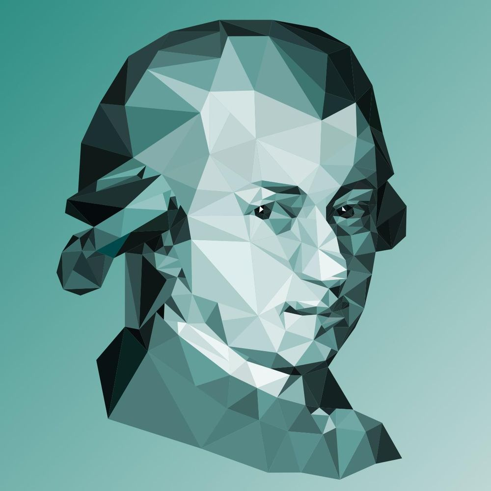 Low Poly Portraits of Classical Composers - image 1 - student project