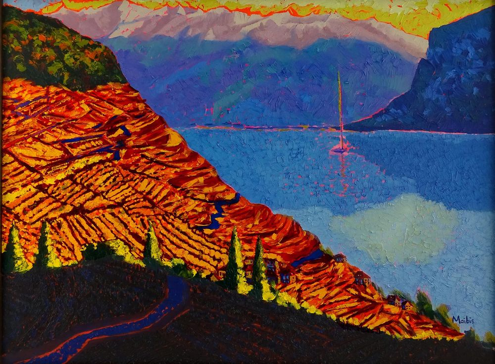 Paint Vibrant Landscapes in Oils - image 1 - student project
