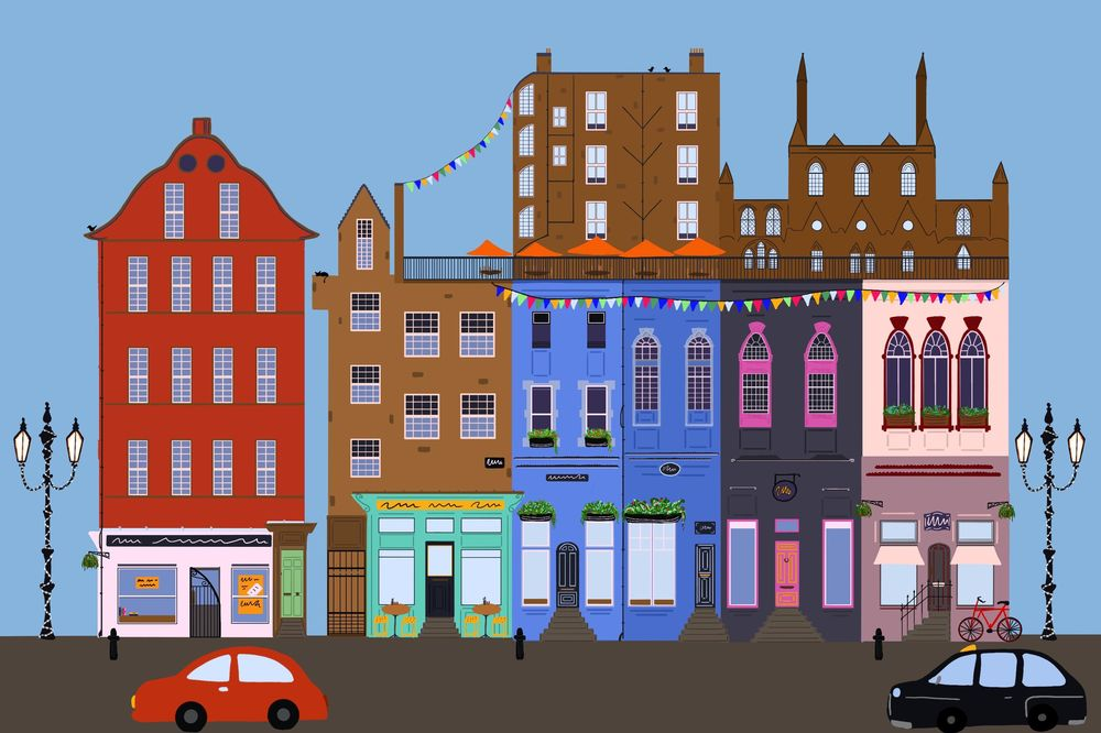 Victoria Street Edinburgh - image 1 - student project