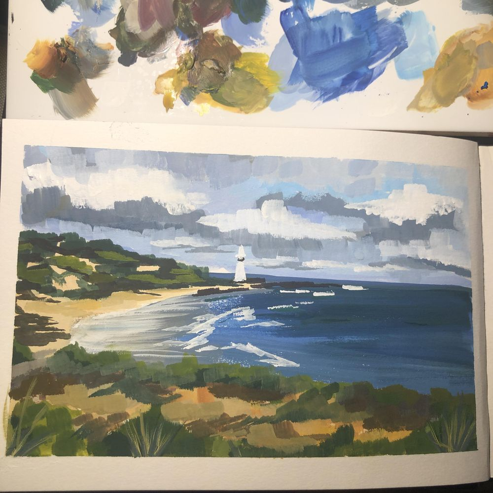 Norah head lighthouse - image 1 - student project