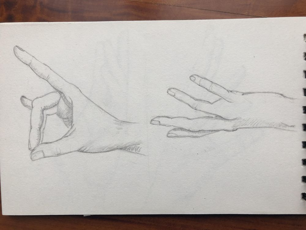 Hands sketching - image 4 - student project