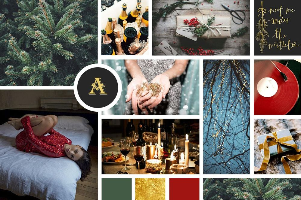 Holidays Moodboard - image 1 - student project