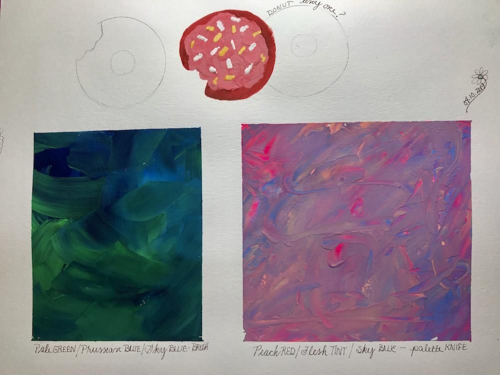 fun with acrylics - image 1 - student project