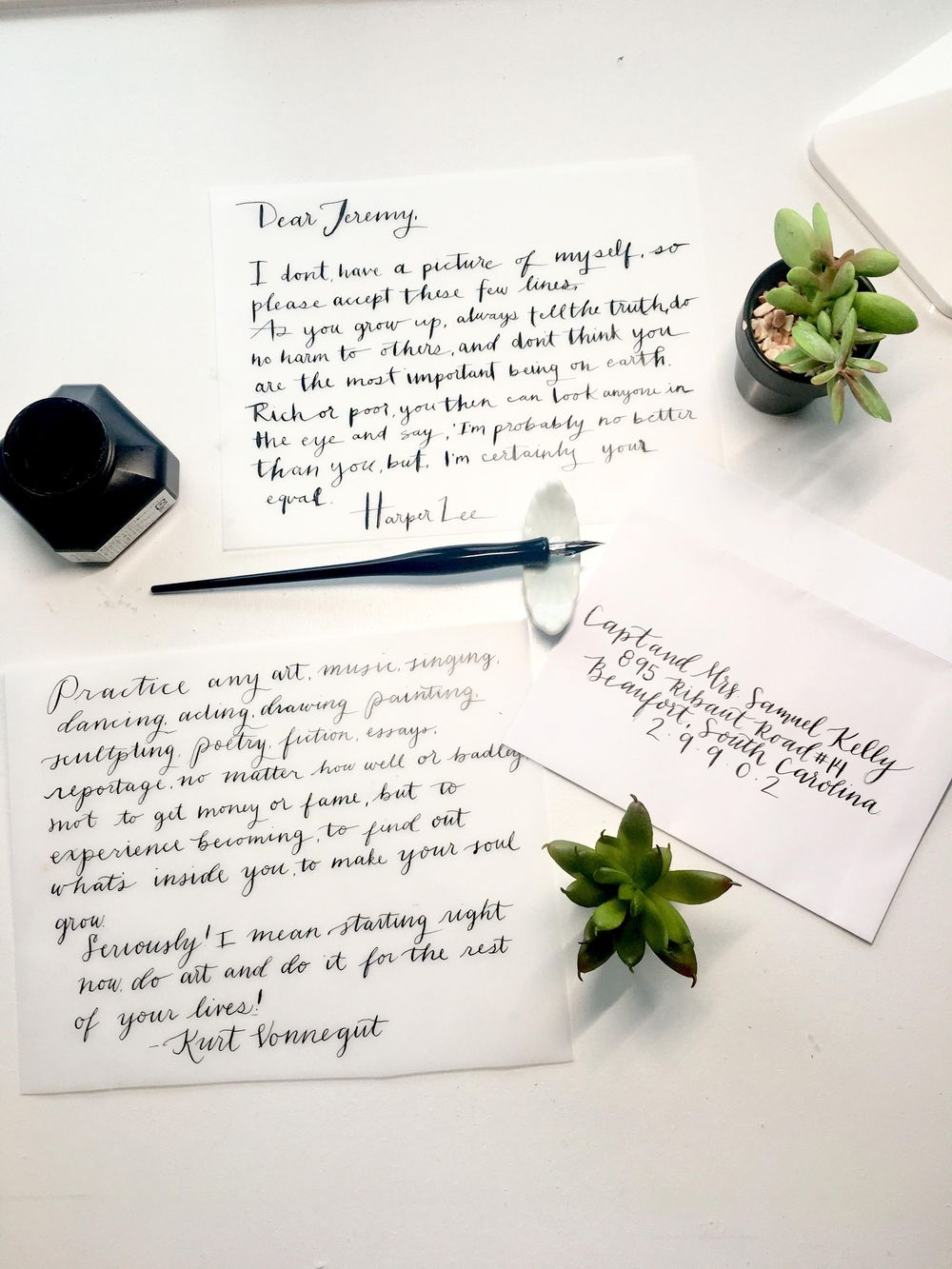 Notes, Poems and Envelopes - image 3 - student project
