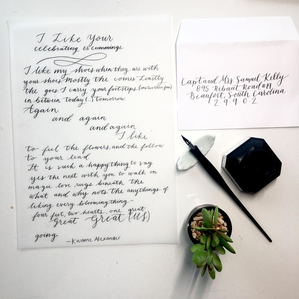 Notes, Poems and Envelopes - image 2 - student project