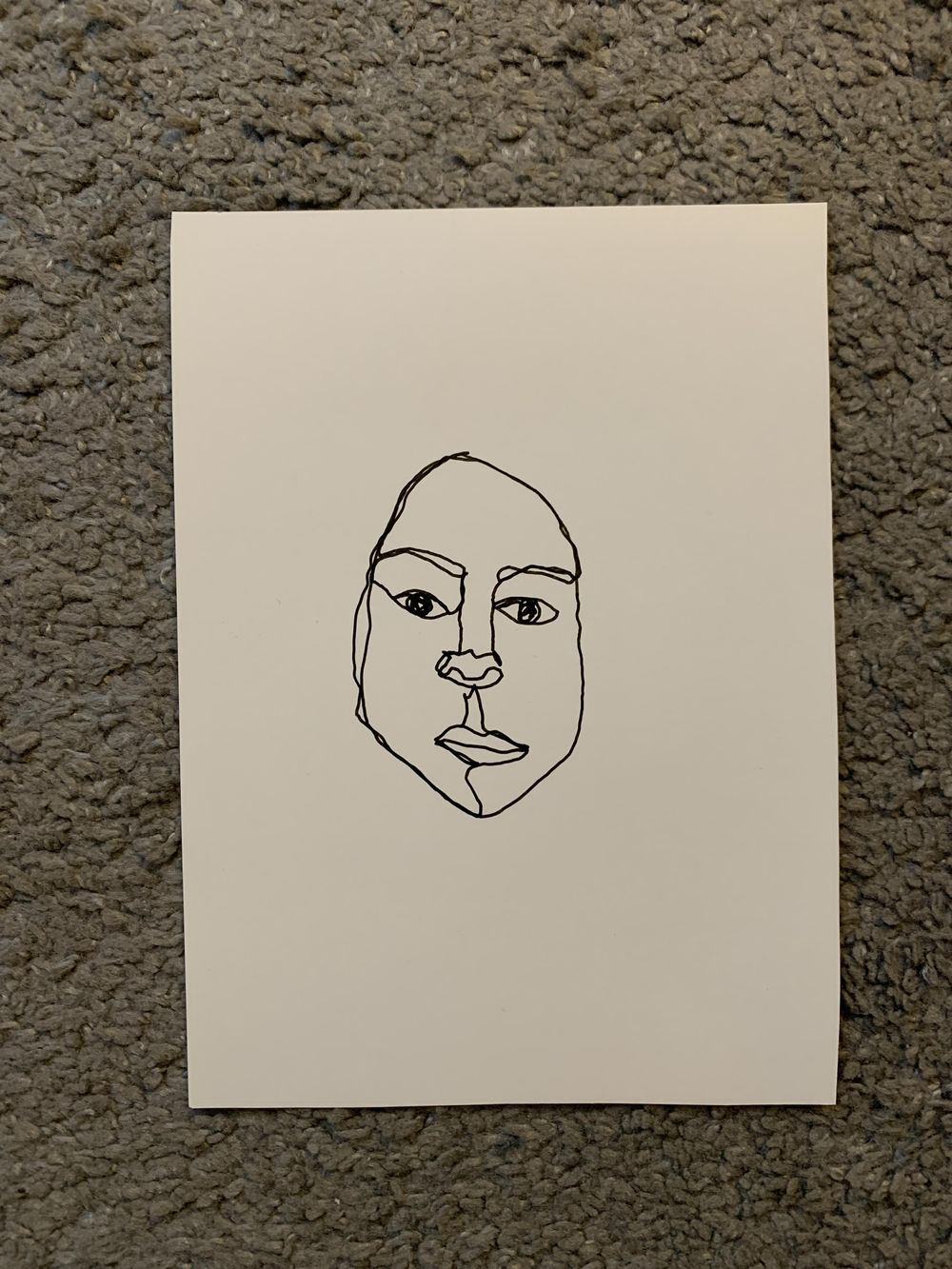 Faces - image 2 - student project