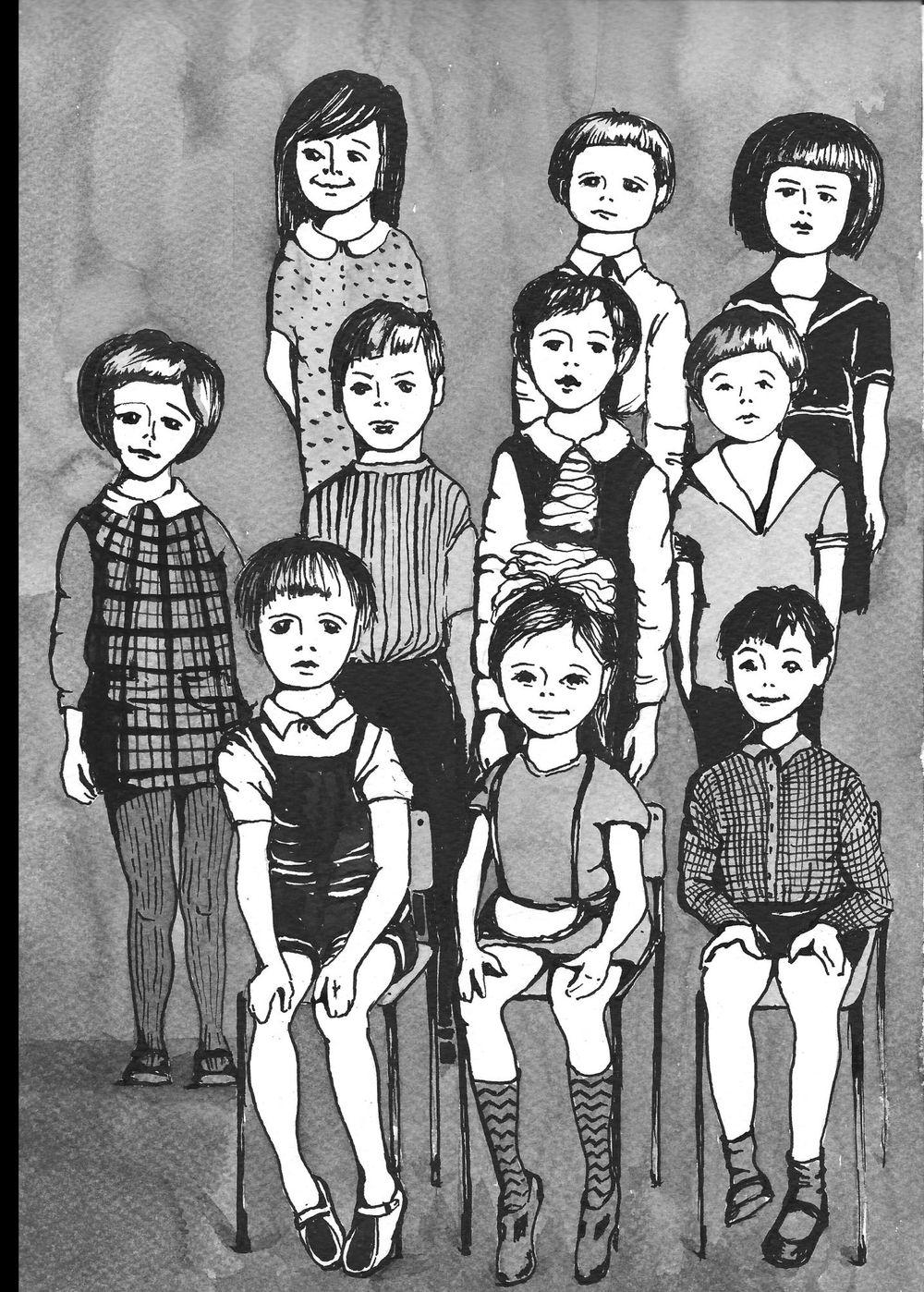 Kindergarten class 1978 - image 1 - student project