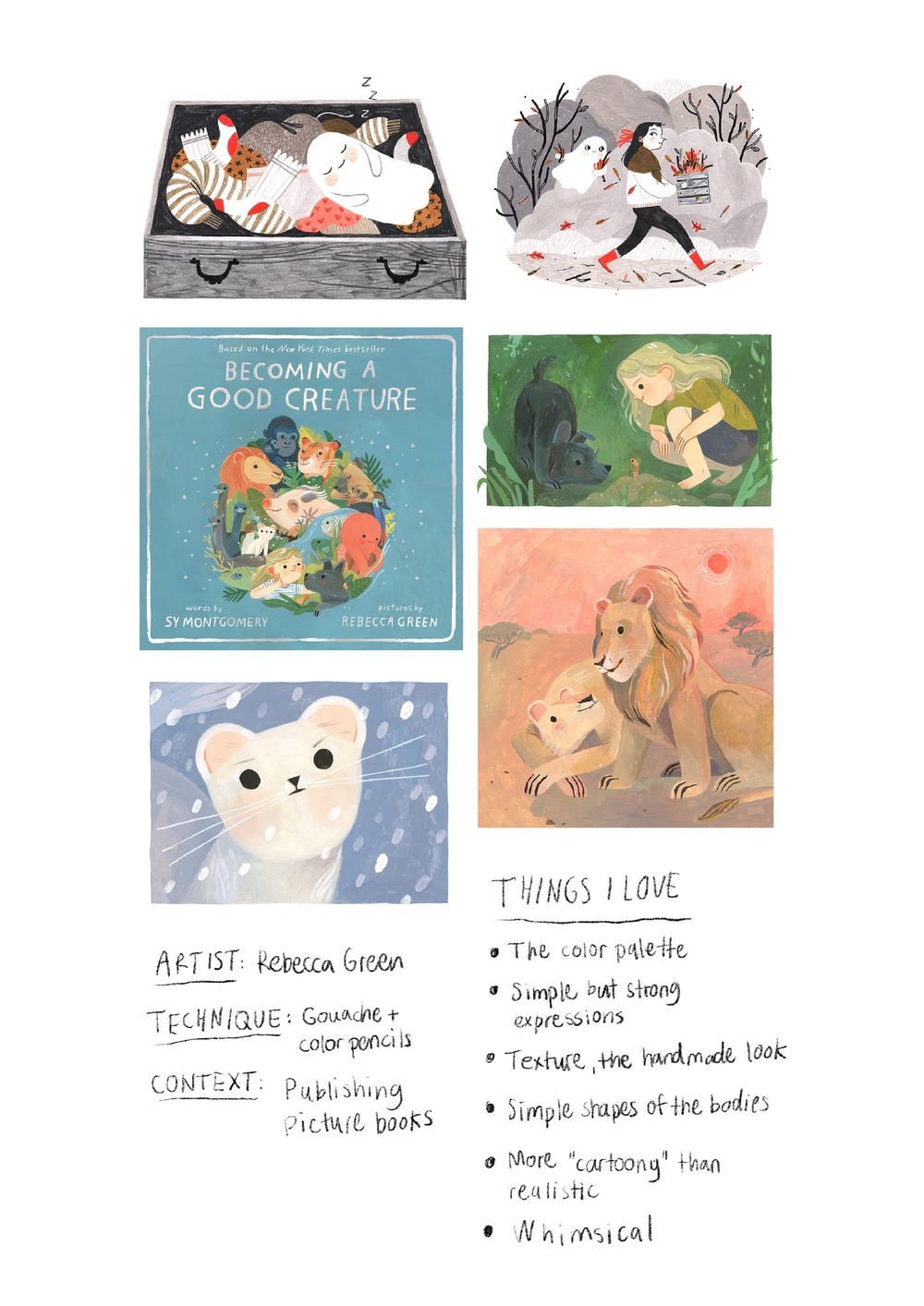 Inspiration case study, Exercise 01 and 02 - image 1 - student project