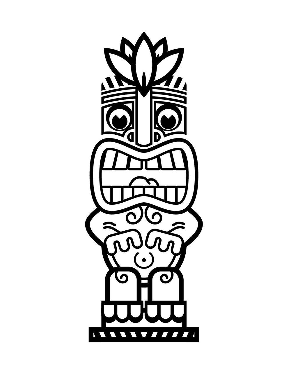 Tiki Man - Digital - image 1 - student project