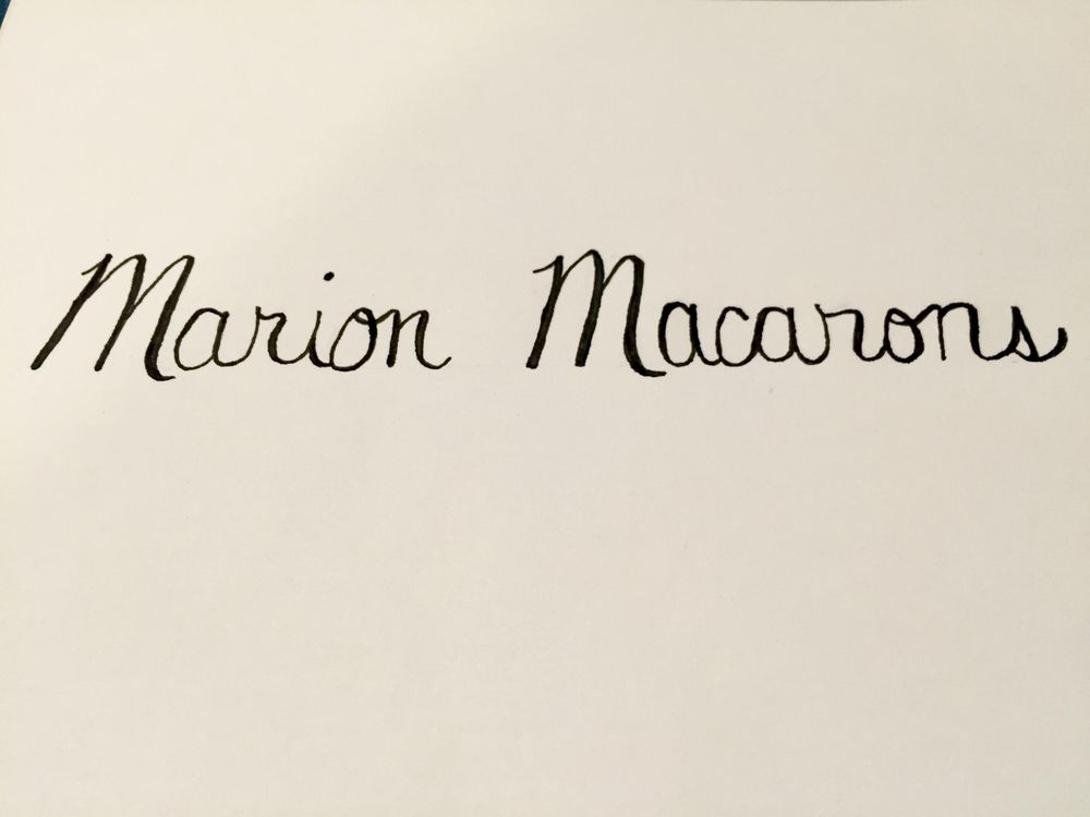 Marion Macarons - image 1 - student project