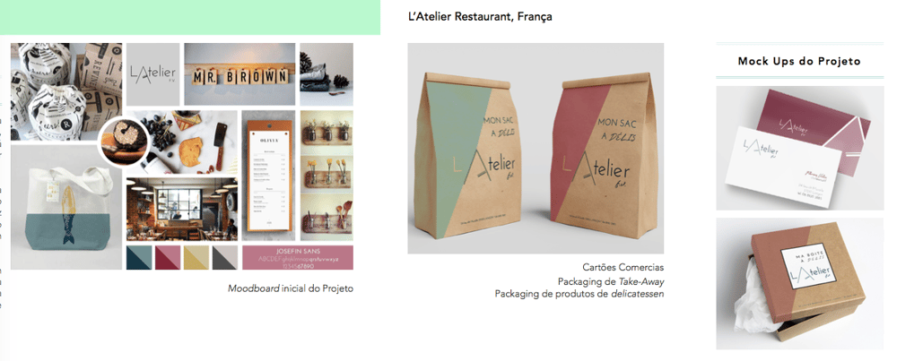 Visual Identity Brand - image 1 - student project