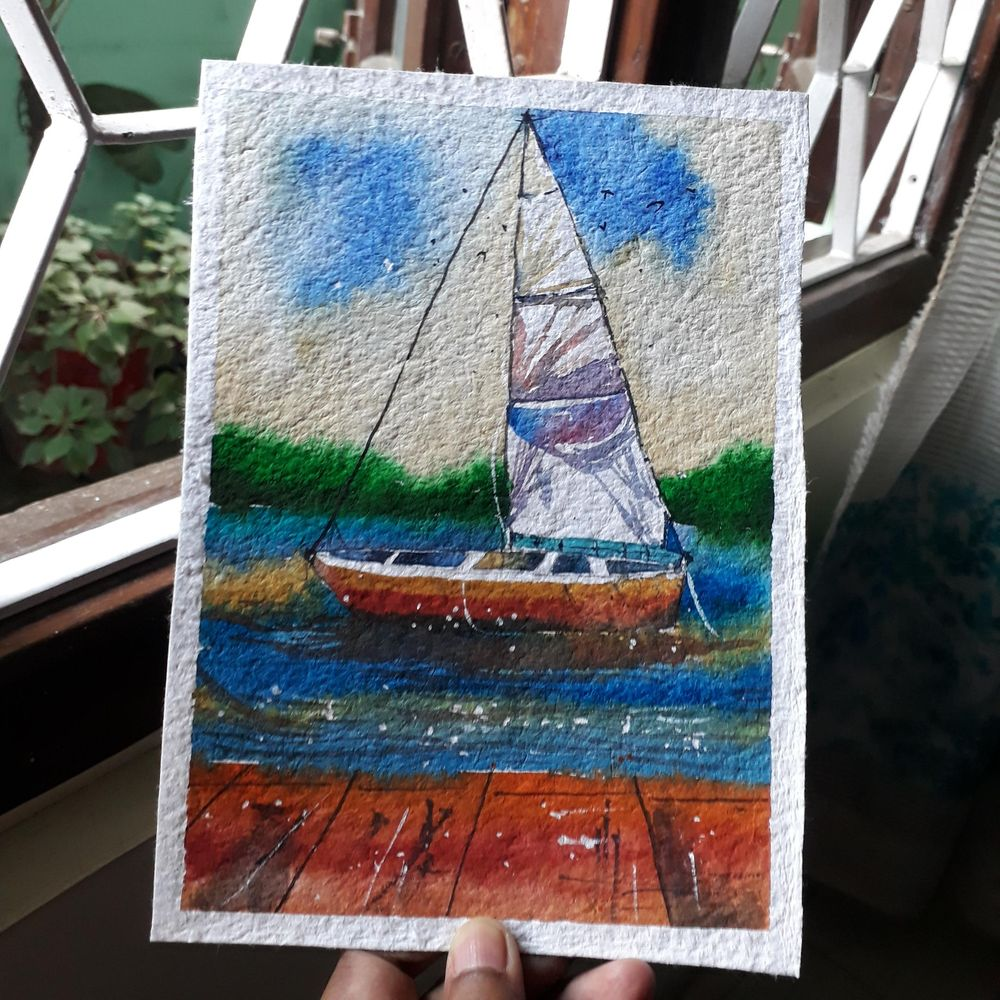 Sailboat - image 1 - student project