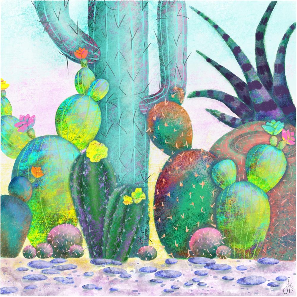 Cactus fun - image 1 - student project