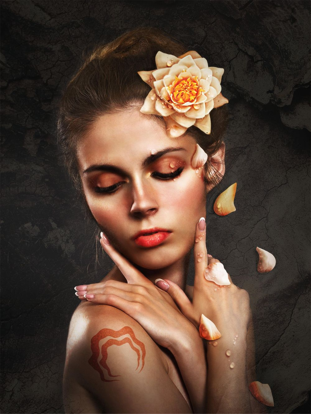 Editing a surrealistic portrait in affinity photo - image 1 - student project