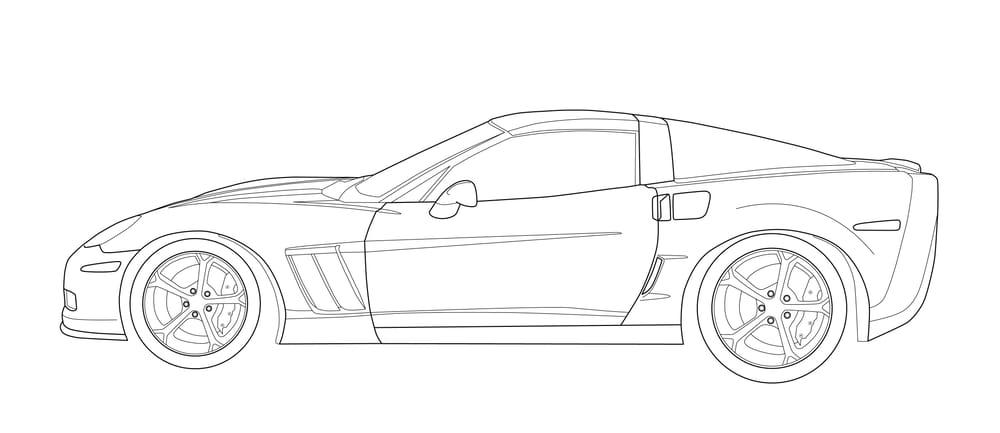 2011 Grand Sport Corvette - image 1 - student project