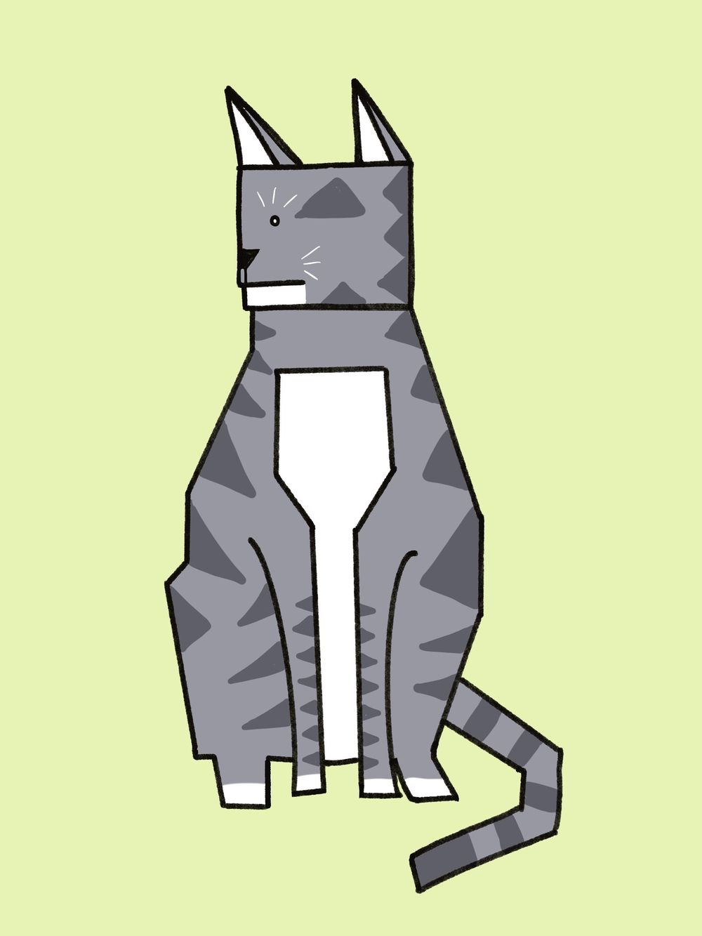 Badger....the cat - image 1 - student project