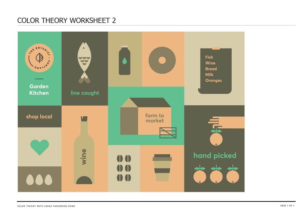 Color Theory - image 1 - student project