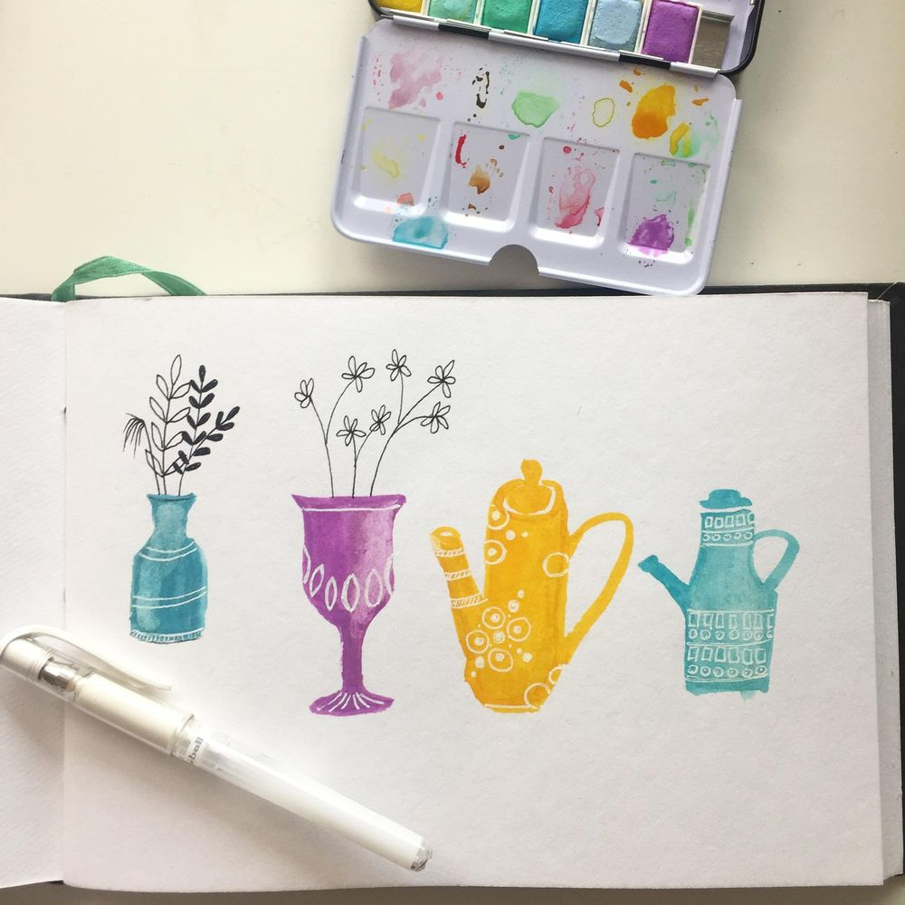 pots and vases - image 1 - student project