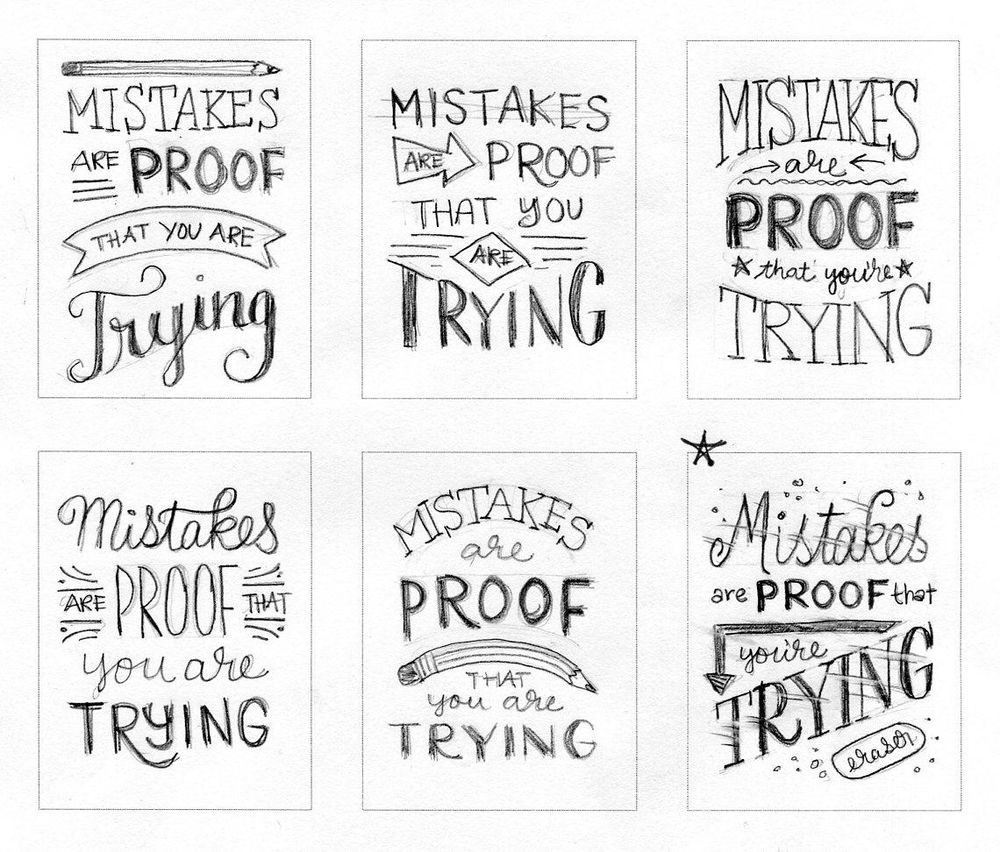 Mistakes Are Proof That You Are Trying - image 3 - student project