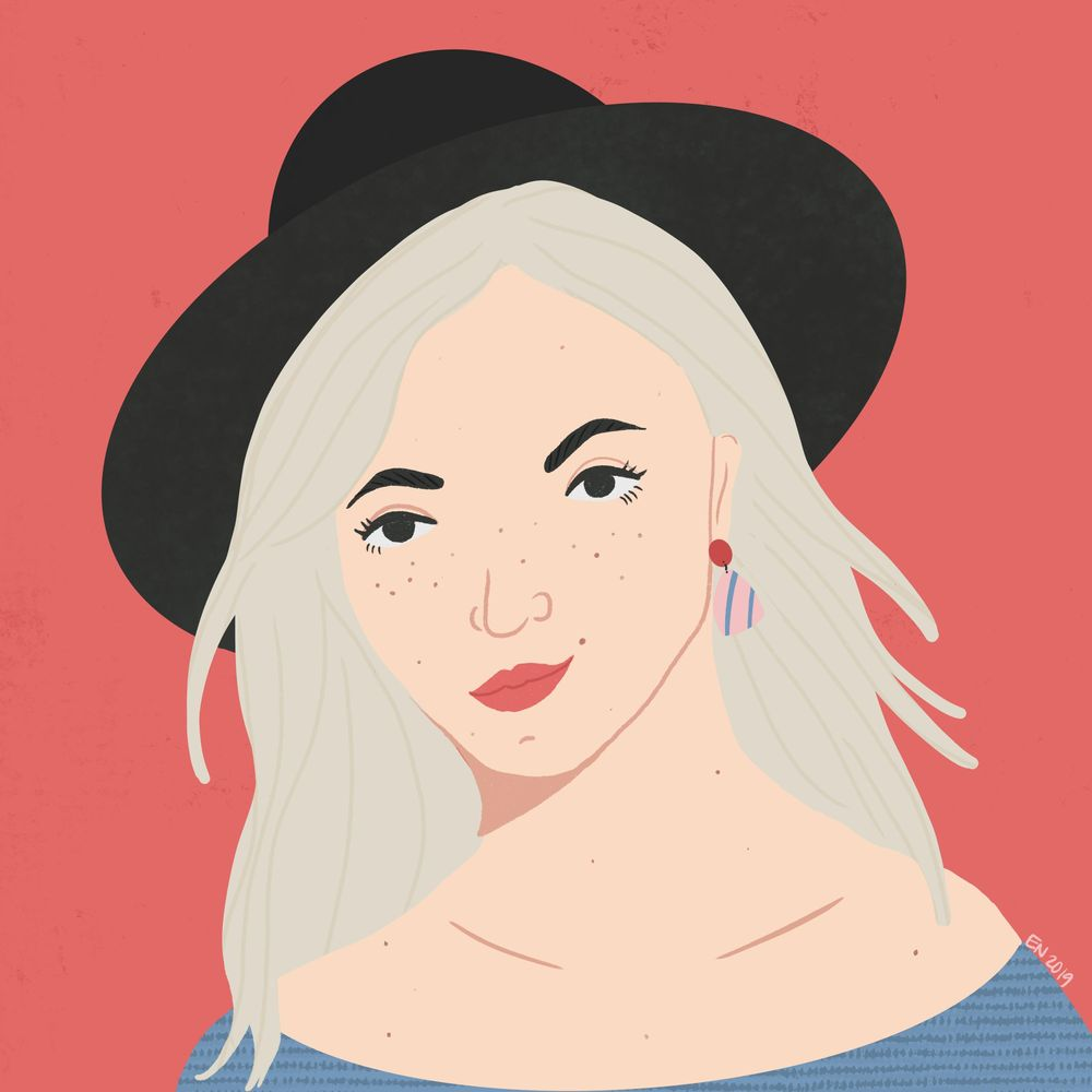 Lady and a Hat - image 1 - student project