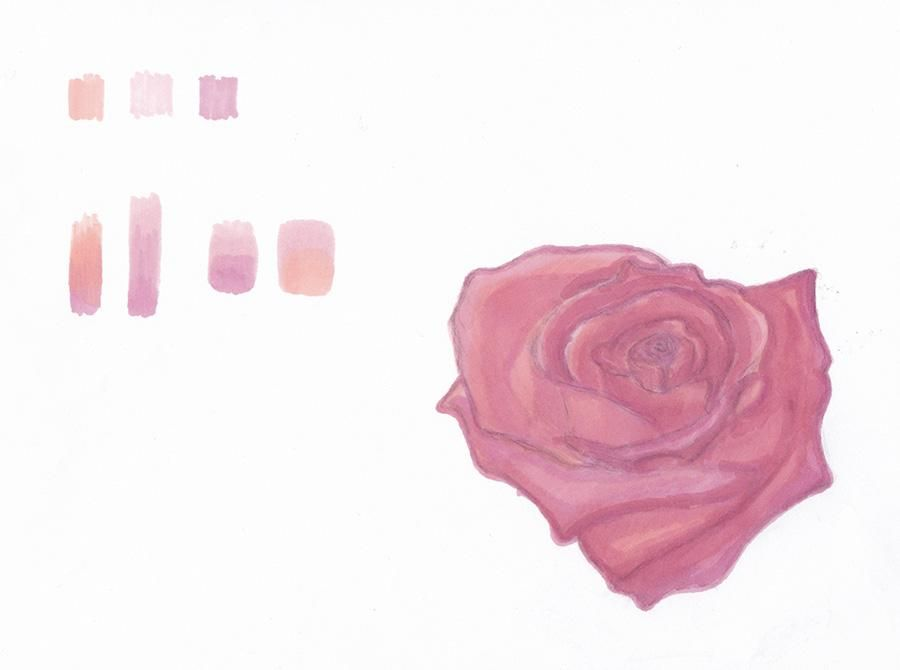 Promarker Rose  - image 1 - student project