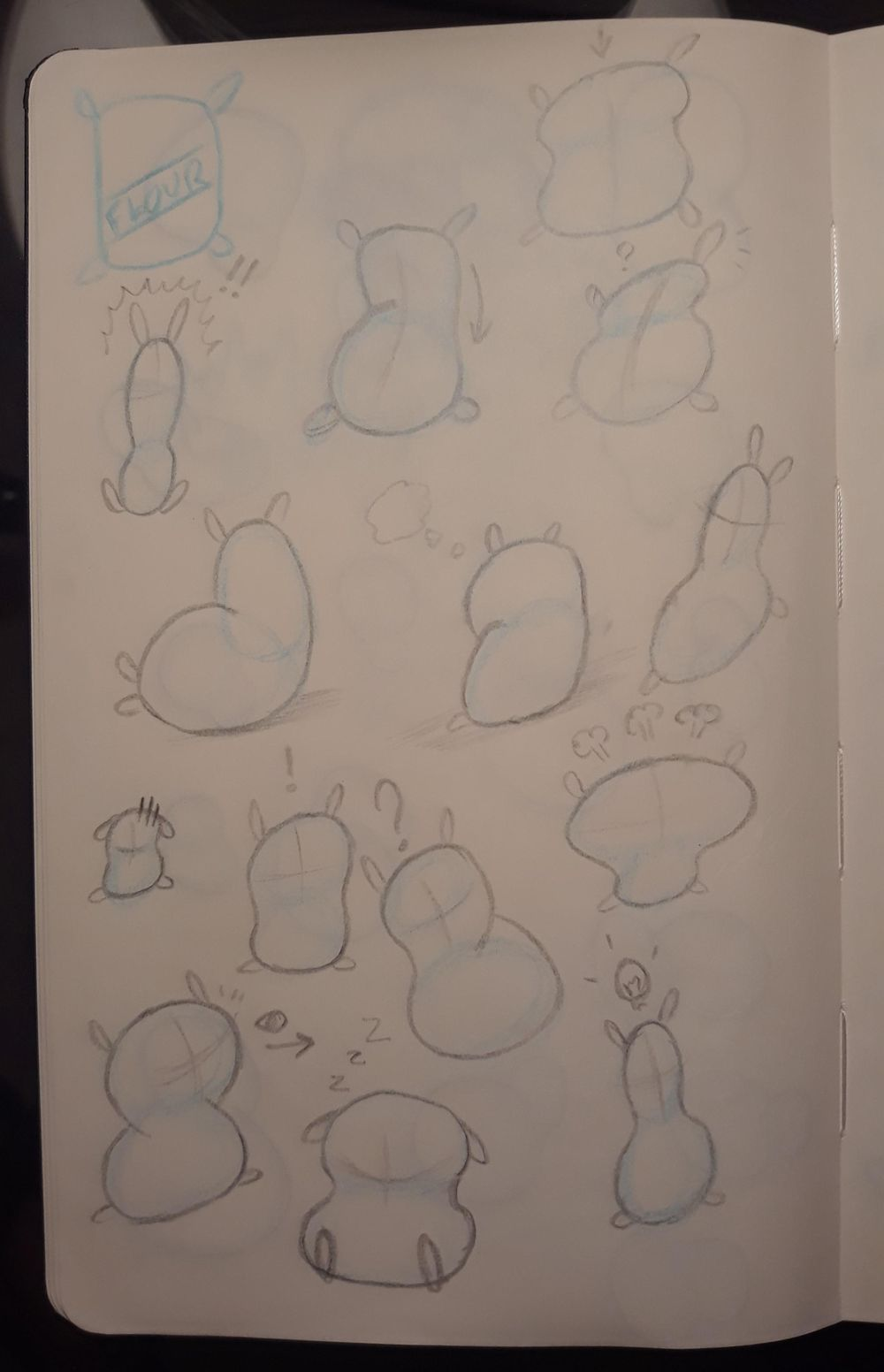 Trying my hand (quite literally) at Rebellious Anatomy - image 2 - student project