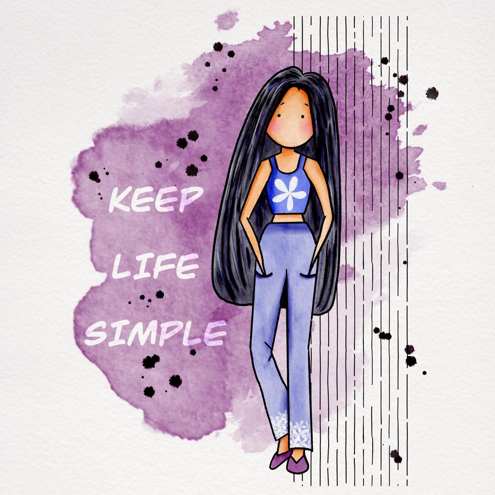 Keep life simple - image 2 - student project