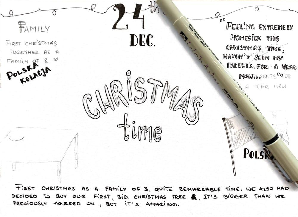 Sketchbook Illustrations - image 1 - student project